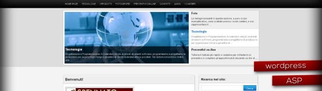 Realizzazione sito infissilegnospennato.it