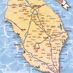 Realizzazione grafica per Cartina stradale del Salento