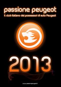 grafica Calendario Passione Peugeot 2013