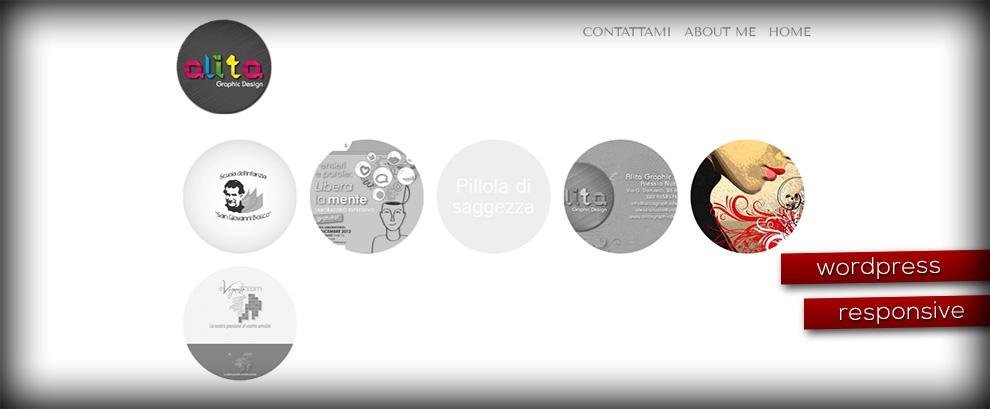 Realizzazione sito alitagraphicdesign.it