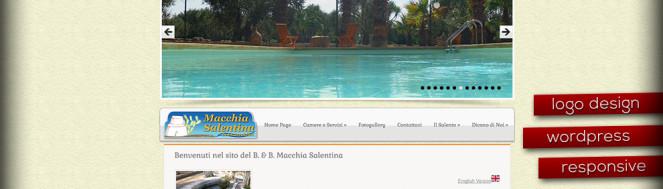 realizzazione sito macchiasalentina.it